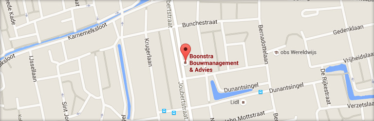 Contact Boonstra Bouwmanagement